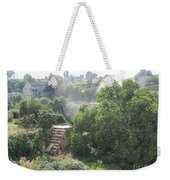Bordeaux Village Cloud Of Smoke  Weekender Tote Bag