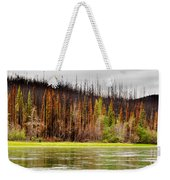Boreal Forest At Yukon River Destroyed By Fire Weekender Tote Bag