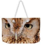 Boreal Owl Eyes  Weekender Tote Bag