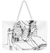 Bored Weekender Tote Bag