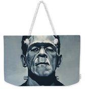 Boris Karloff As Frankenstein  Weekender Tote Bag by Paul Meijering