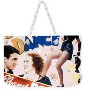 Born To Dance Weekender Tote Bag