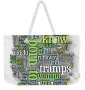 Born To Run Weekender Tote Bag by Scott Norris