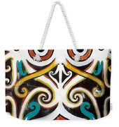 Borneo Shield Ornaments  Weekender Tote Bag