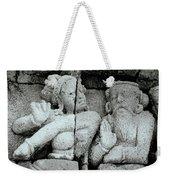 Borobudur Apsara Dancer Weekender Tote Bag