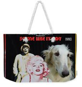 Borzoi Art - Some Like It Hot Movie Poster Weekender Tote Bag