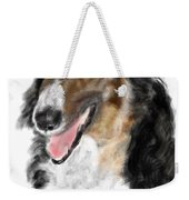 Borzoi Handsome Weekender Tote Bag