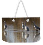Bosque Del Apache Cranes Weekender Tote Bag
