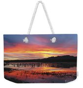 Bosque Sunset I Weekender Tote Bag