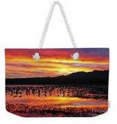 Bosque Sunset II Weekender Tote Bag