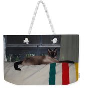 Boss Cat Weekender Tote Bag