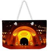 Boston - 50 Rowes Wharf Arch Weekender Tote Bag