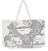 Boston And Bunker Hill 1781 Weekender Tote Bag