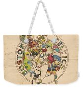 Boston Celtics Logo Vintage Weekender Tote Bag