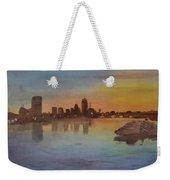 Boston Charles River At Sunset  Weekender Tote Bag