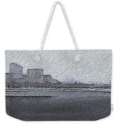 Boston Cityscape Weekender Tote Bag