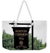 Boston Common Ma Weekender Tote Bag