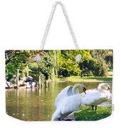 Boston Common Swan Lake Weekender Tote Bag