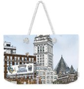Boston Custom House Tower Weekender Tote Bag