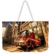 Boston Fire Truck  Weekender Tote Bag
