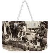 Boston Fish Market, 1909 Weekender Tote Bag