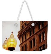 Boston Gas Light Weekender Tote Bag
