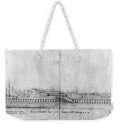 Boston Harbor, 1778 Weekender Tote Bag