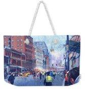 Boston Marathon Angels Weekender Tote Bag