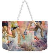Boston Marathon Strength Weekender Tote Bag