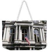 Boston Old City Hall Weekender Tote Bag