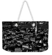 Boston Old North Church Black And White Weekender Tote Bag