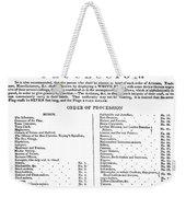 Boston Procession, 1789 Weekender Tote Bag