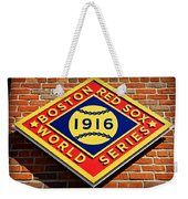 Boston Red Sox 1916 World Champions Weekender Tote Bag