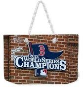 Boston Red Sox World Champions Weekender Tote Bag