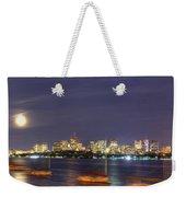 Boston Skyline From Memorial Drive Weekender Tote Bag