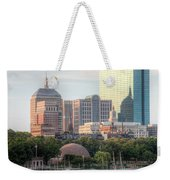 Boston Skyline II Weekender Tote Bag