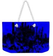 Boston Skyline Paint Splash 2 Weekender Tote Bag