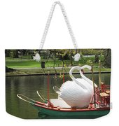 Boston Swan Boats Weekender Tote Bag