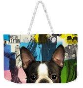 Boston Terrier Art - 30 Years Of Fun Movie Poster Weekender Tote Bag