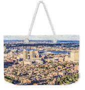 Boston Usa Elevated View Weekender Tote Bag