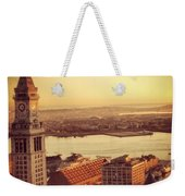 Boston's Custom House Weekender Tote Bag