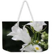 Botanical Beauty In White Weekender Tote Bag