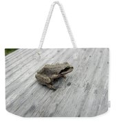 Botanical Gardens Tree Frog Weekender Tote Bag