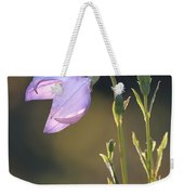 Botanical Purple Iris Weekender Tote Bag