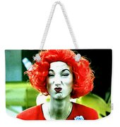 Both Eyes Blinking Means Trouble Higher Up Weekender Tote Bag