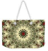 Bottle Brush Kaleidoscope Weekender Tote Bag