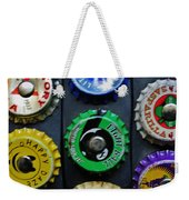 Bottle Tops Weekender Tote Bag