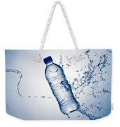 Bottle Water And Splash Weekender Tote Bag by Johan Swanepoel