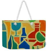 Bottles And Glasses 2 Weekender Tote Bag