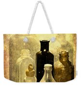 Bottles From The Past Weekender Tote Bag